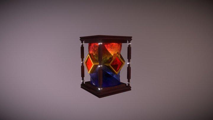 Five Space Hourglass 3D Model