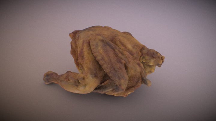 roast chicken (Downloadable) 3D Model