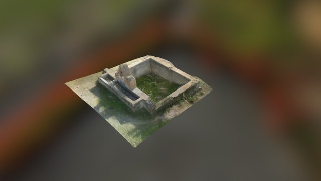 Pilar en cortijo Almendrales 3D Model