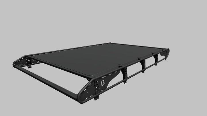 Roof rack F-DESIGN Mercedes-Benz G-Class 3D Model