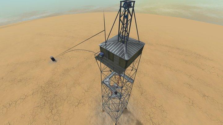 Trinity nuclear test (Gadget) 3D Model