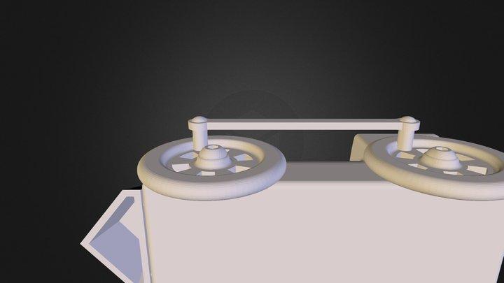 Mini Train Assembly 3D Model