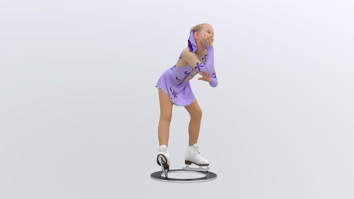 Ice_princess_poly100k_tex2k 3D Model