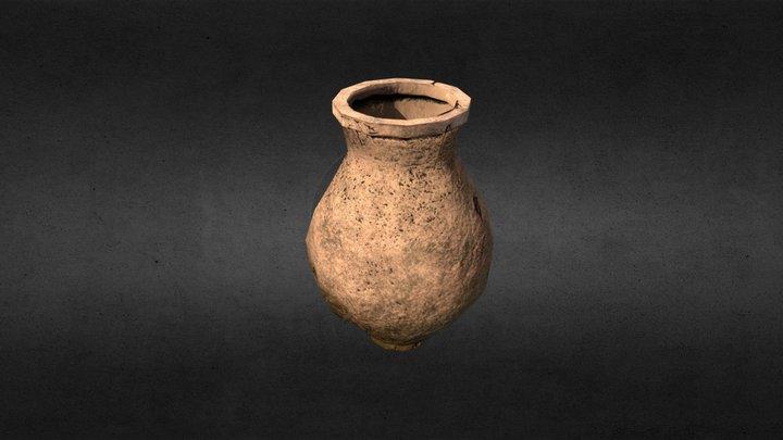 Roman Jar 2 - Low Poly. 3D Model