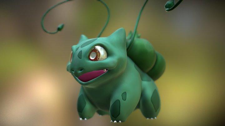 #1 Bulbasaur! 3D Model