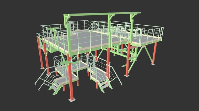 Площадка 3D Model