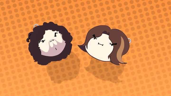 Game Grumps Keychains Concepts 3D Model