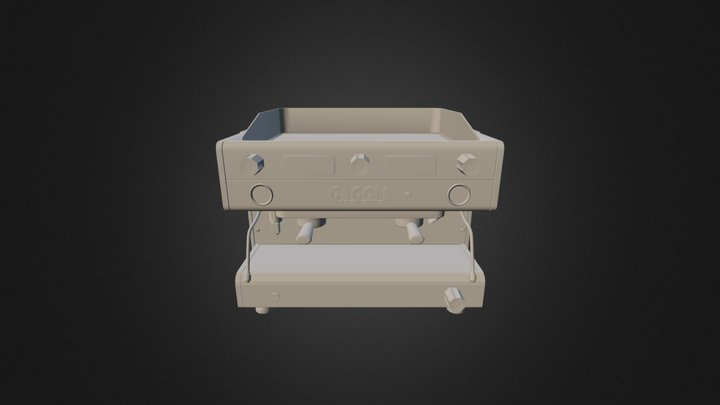 Gaggia Midpoly 3D Model