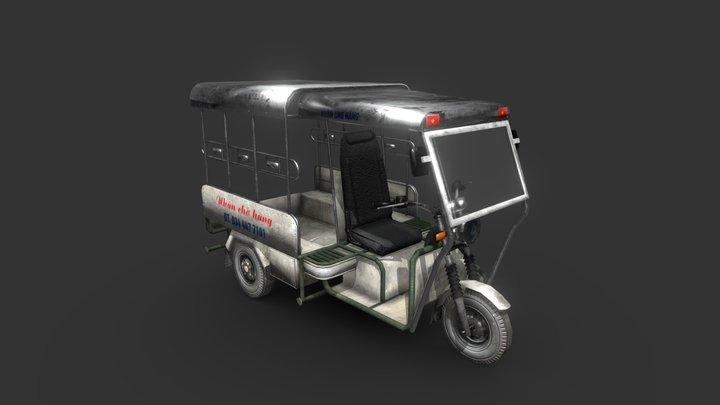 Xe thương binh 3D Model