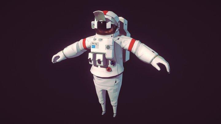 Astronaut Tom 3D Model