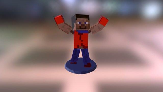 Minecraft Bodyfor STL 3D Model