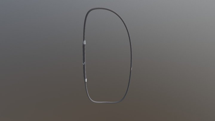СТРОП КАНАТНЫЙ КОЛЬЦЕВОЙ (УСК2, СКК1) 3D Model