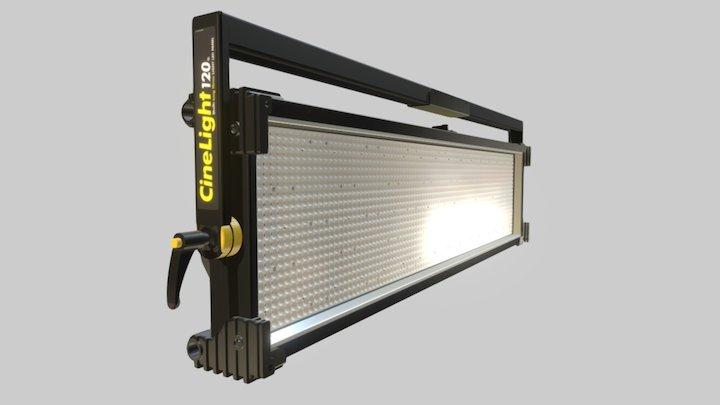 CineLight Studio 120 Long Throw LED Panel 3D Model