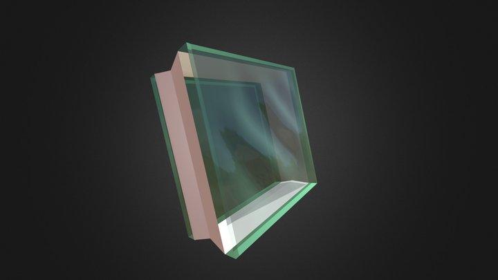 Wave glassblock 3D Model