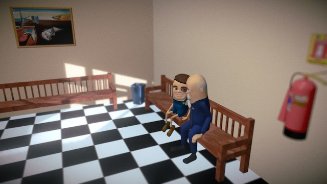 The Janitor Stories 3D Model