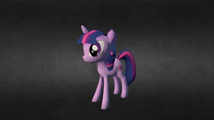 My little pony - Shadow Sparkle 3D Model