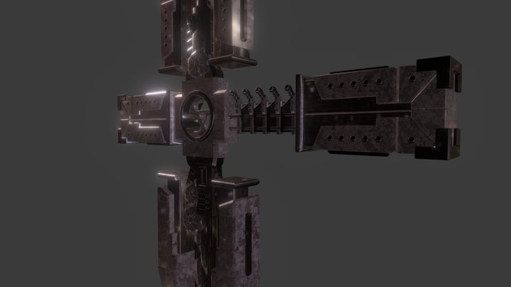 Trigun Cross 2 3D Model