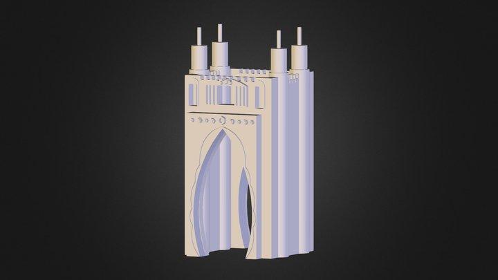 قلغة 3D Model