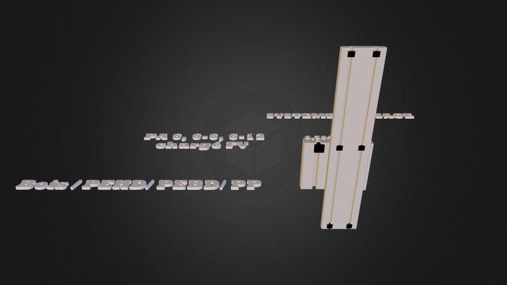 système clipsage estimation elasticité.dae 3D Model