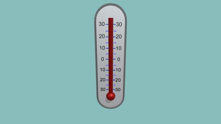 Termometer 3D Model