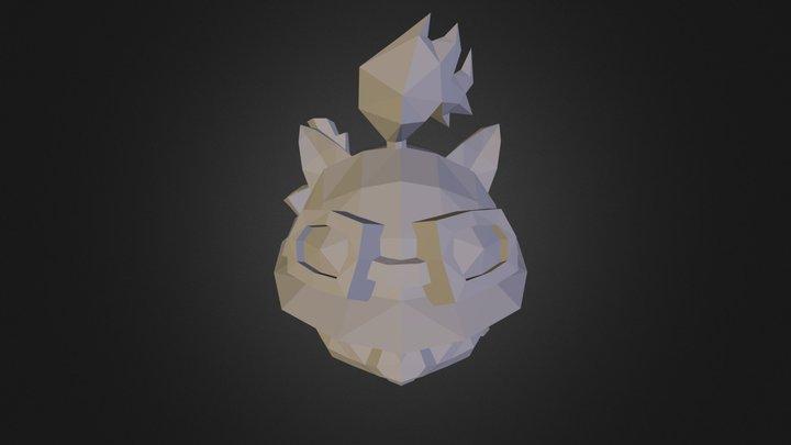 Teemo Repaired  3D Model