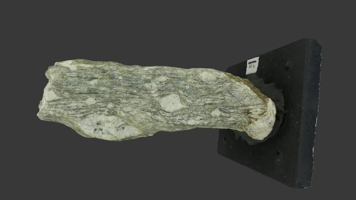 epi-Granitgneis mit Feldspat-Augen 3D Model