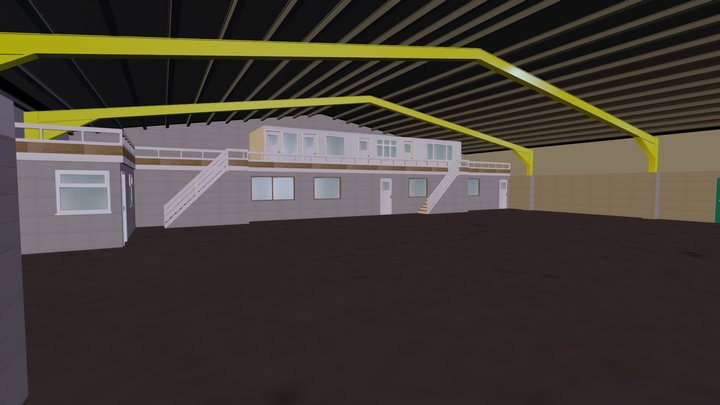Rotherham Warehouse 3D Model
