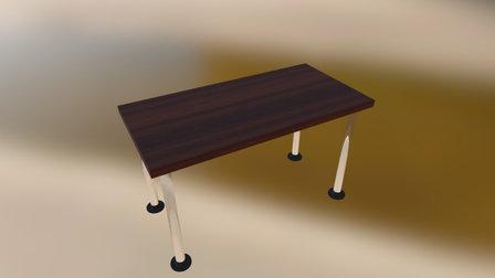 Unstable Desk 3D Model