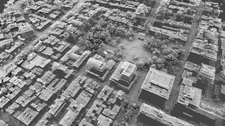 Washington Square, New York City 3D Model