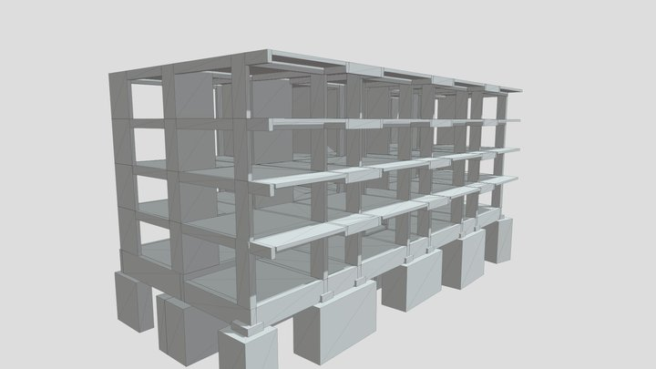 MRF structure - Comfort Residence 3D Model