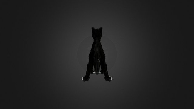 Cat : Tilt Brush 3D Model