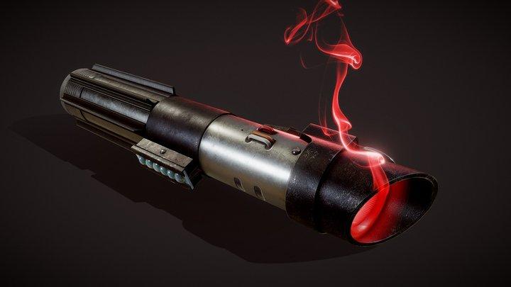 Darth Vader's lightsaber 3D Model