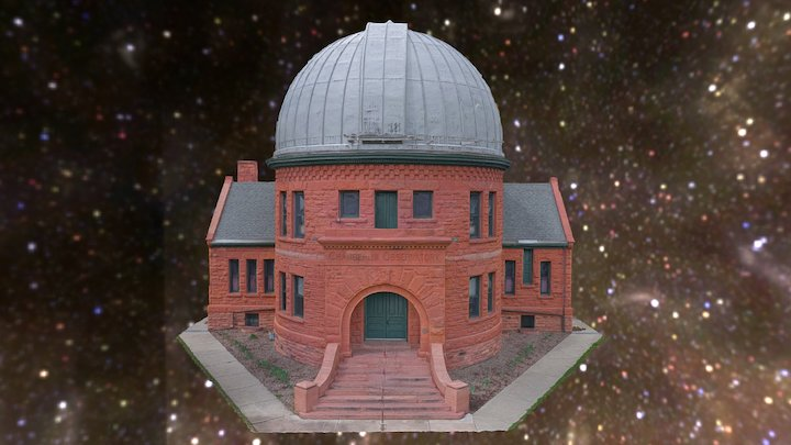 Chamberlin Observatory - Denver, Colorado USA 3D Model