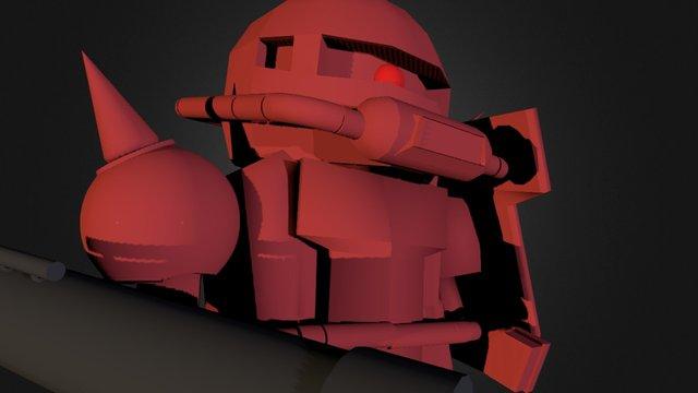 Zaku 3D Model