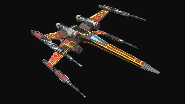 X-Wing 18.026 3D Model