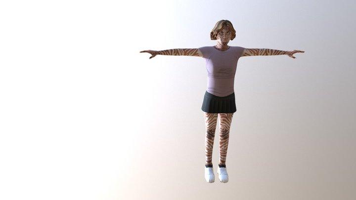 Character 1 Zip 3D Model