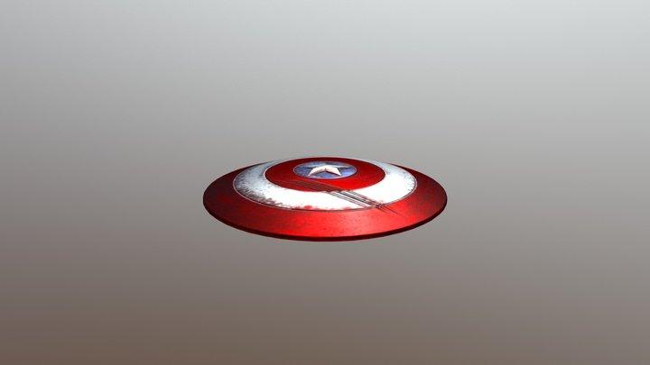 Cap'n Shield 3D Model