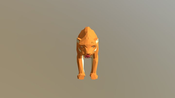 Smilodon - Prehistoric Pack 3D Model