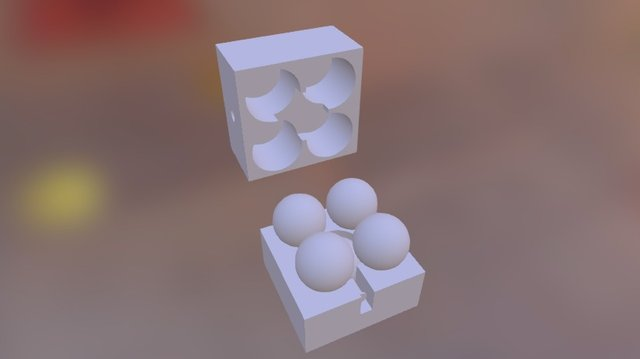 8x5 Sphere Case 3D Model