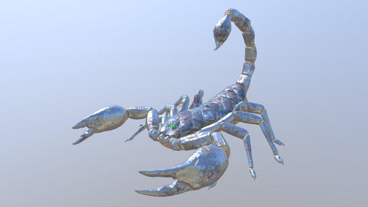 Armored Scorpion 3D Model