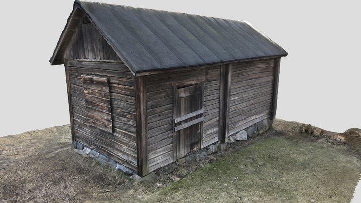 Smoke sauna, Helsinki, Finland 3D Model