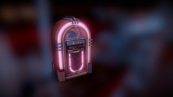 Vintage Jukebox 3D Model