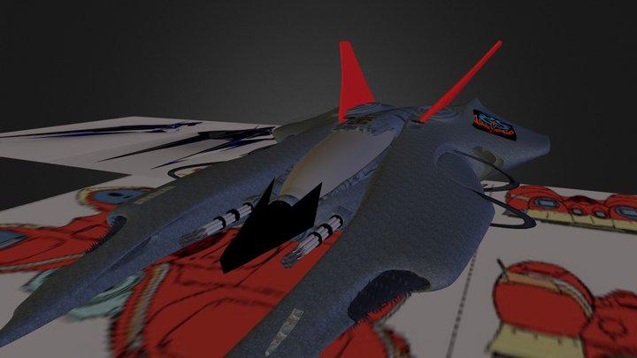 F-zero Advanced 3D Model