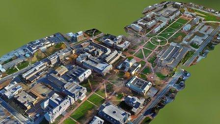 (LD) University of Delaware Main Campus 3D Model