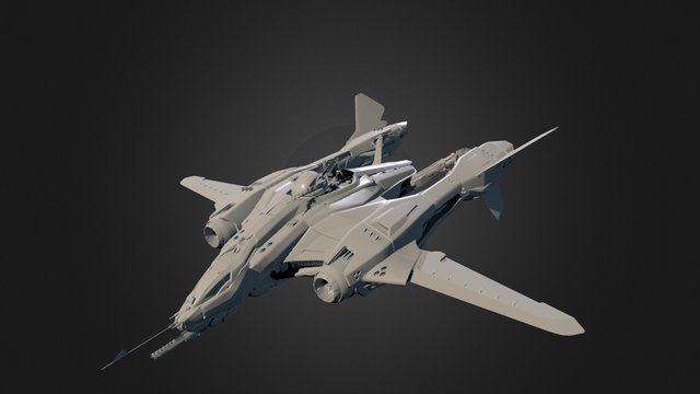 Aegis Dynamics Vanguard Sentinel 3D Model