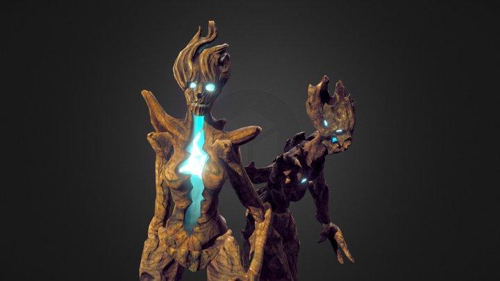 Forest dwellers 3D Model