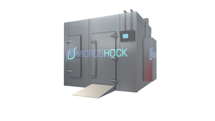 Камера акустической заморозки - вид снаружи 3D Model
