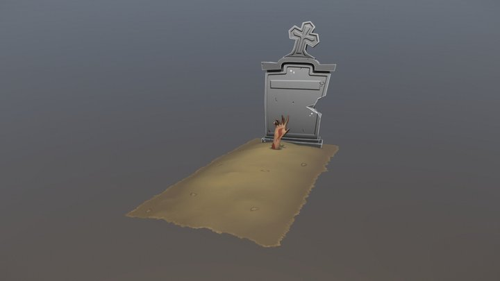 Grave - I Live... Again! 3D Model