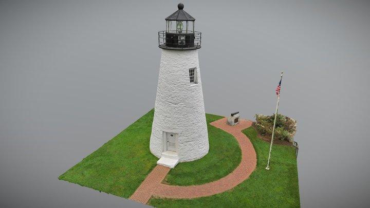 Concord Point Lighthouse - Havre de Grace, MD 3D Model