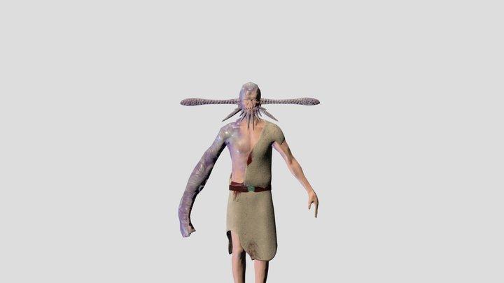 Cthulhu Follower 3D Model